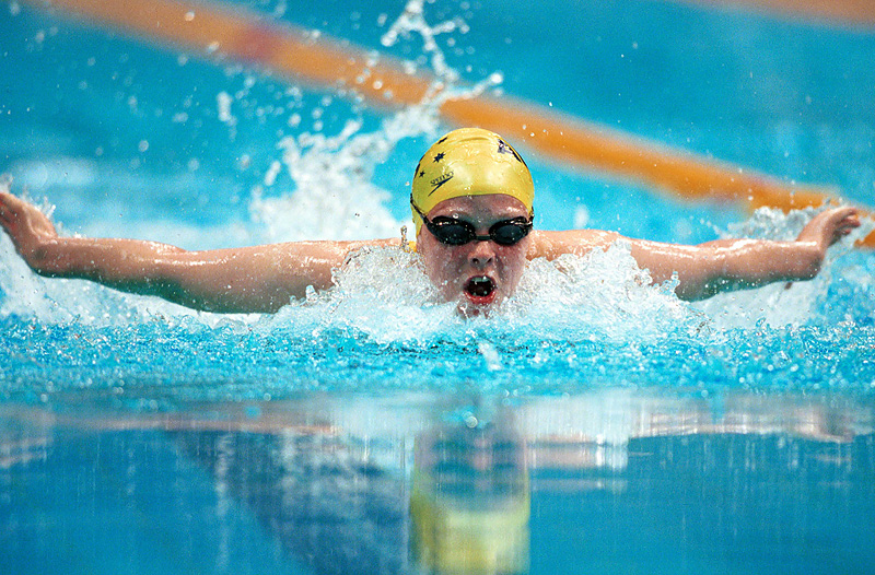 Siobhan Paton (AUS) action Swimming 2000 Sydney PG