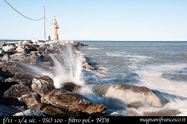 fotografare l'acqua