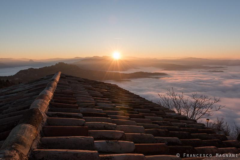 Sospeso tra le nuvole: racconto di uno scatto