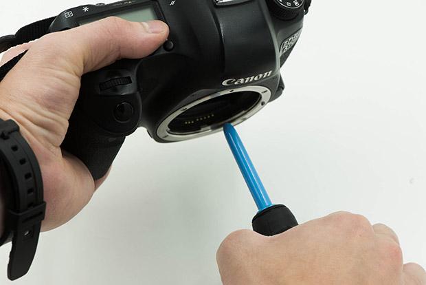 come pulire il sensore